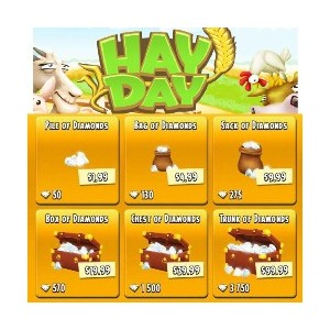 Hayday 50 Diamonds