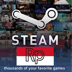 Voucher Steam Wallet Rp. 400.000
